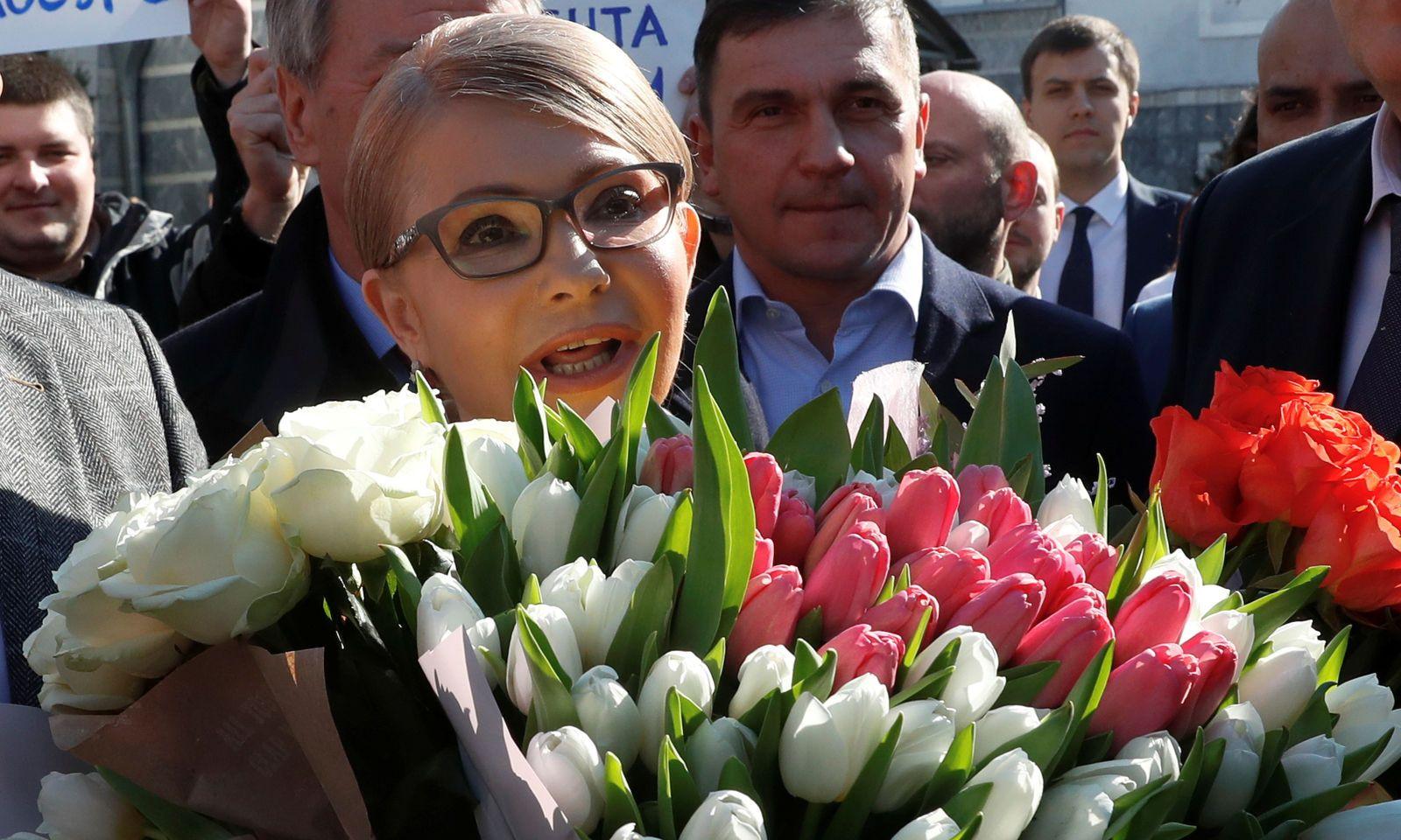 Auch dieses Mal ist fraglich, ob Timoschenko in die Stichwahl am 21. April kommt