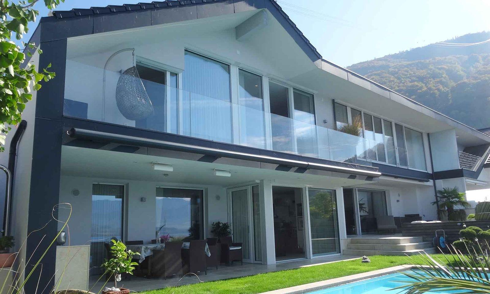 Am Traunsee herrscht das ganze Jahr über reges Leben. Im Bild eine Villa, die derzeit in Gmunden zum Verkauf steht.