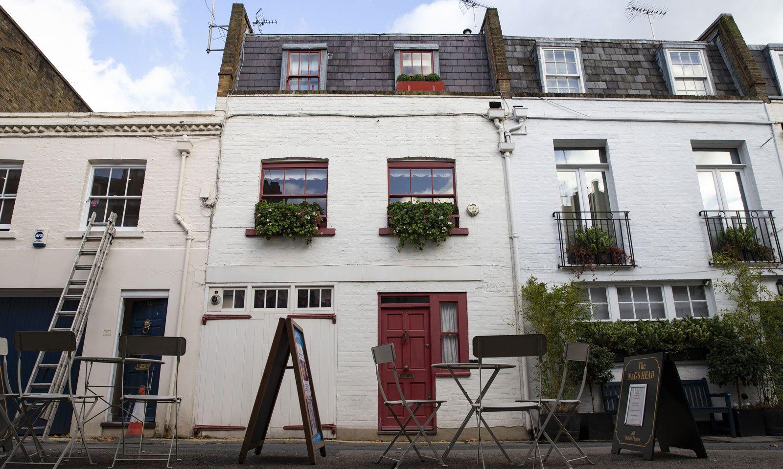Ghislaine Maxwells Haus in London.