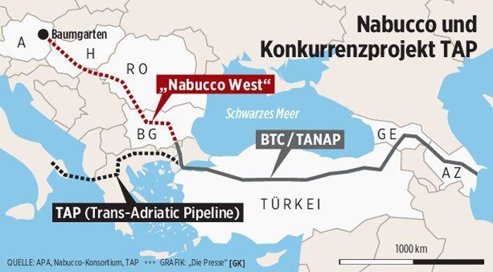 Nabucco PipelineProjekt gescheitert
