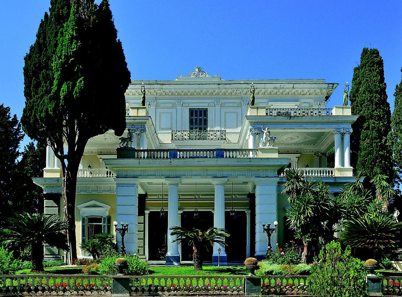 Das Achilleion auf Korfu