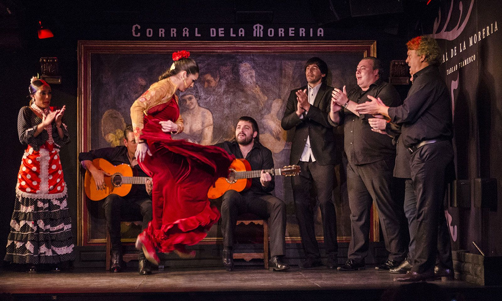 Flamenco-Aufführung im berühmten Corral de la Moreira.