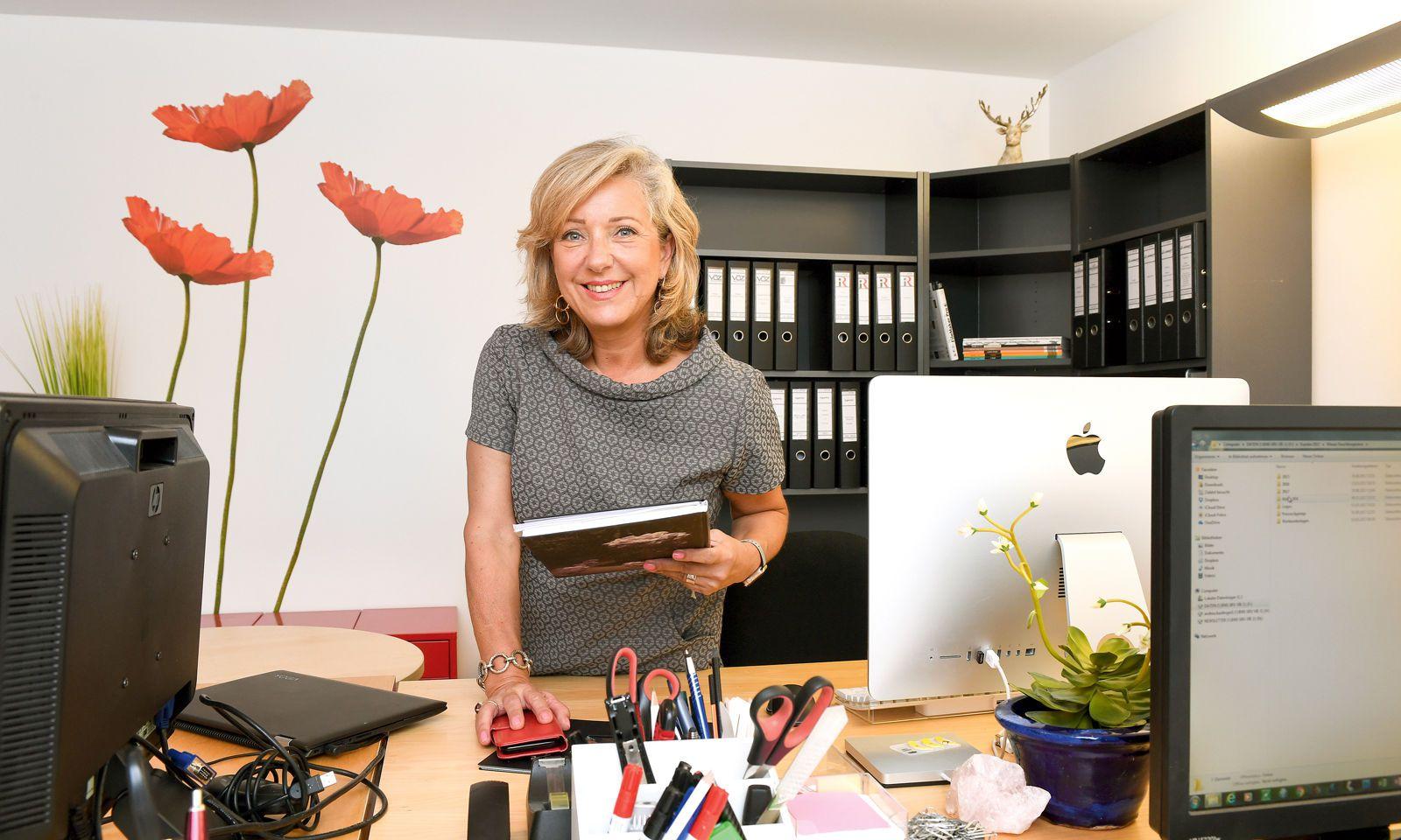 Weil sich die Art und Weise des Arbeitens verändert hat, hat Andrea Baidinger auch ihre Agenturräumlichkeiten adaptiert.