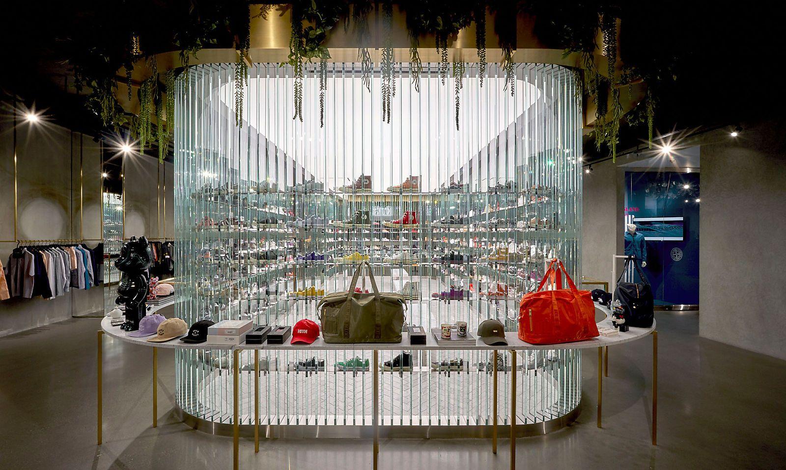 Store der Kette Kith-Los vpn Snarkitecture.