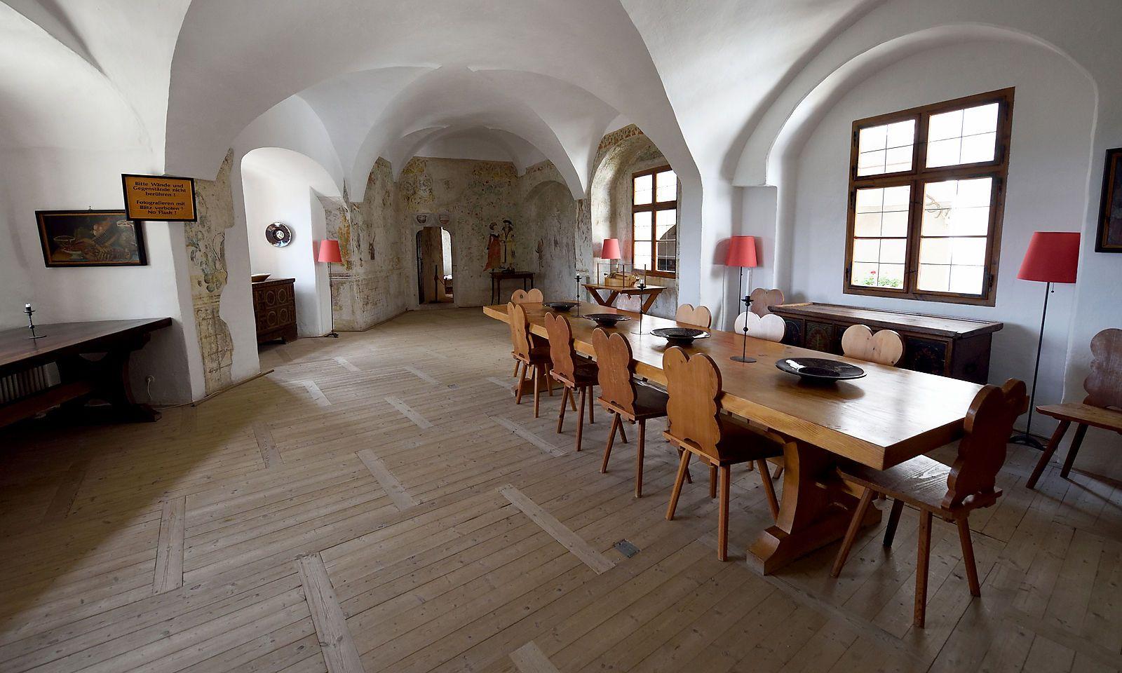 Einer der einst bewohnten Räume.