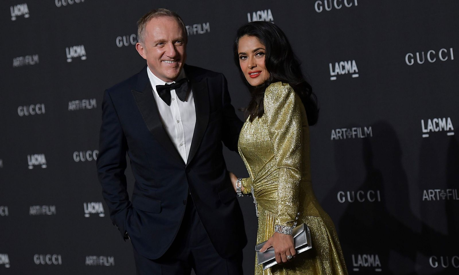 François-Henri Pinault mit seiner Frau Salma Hayek. Seit 2005 leitet er das Firmenimperium.