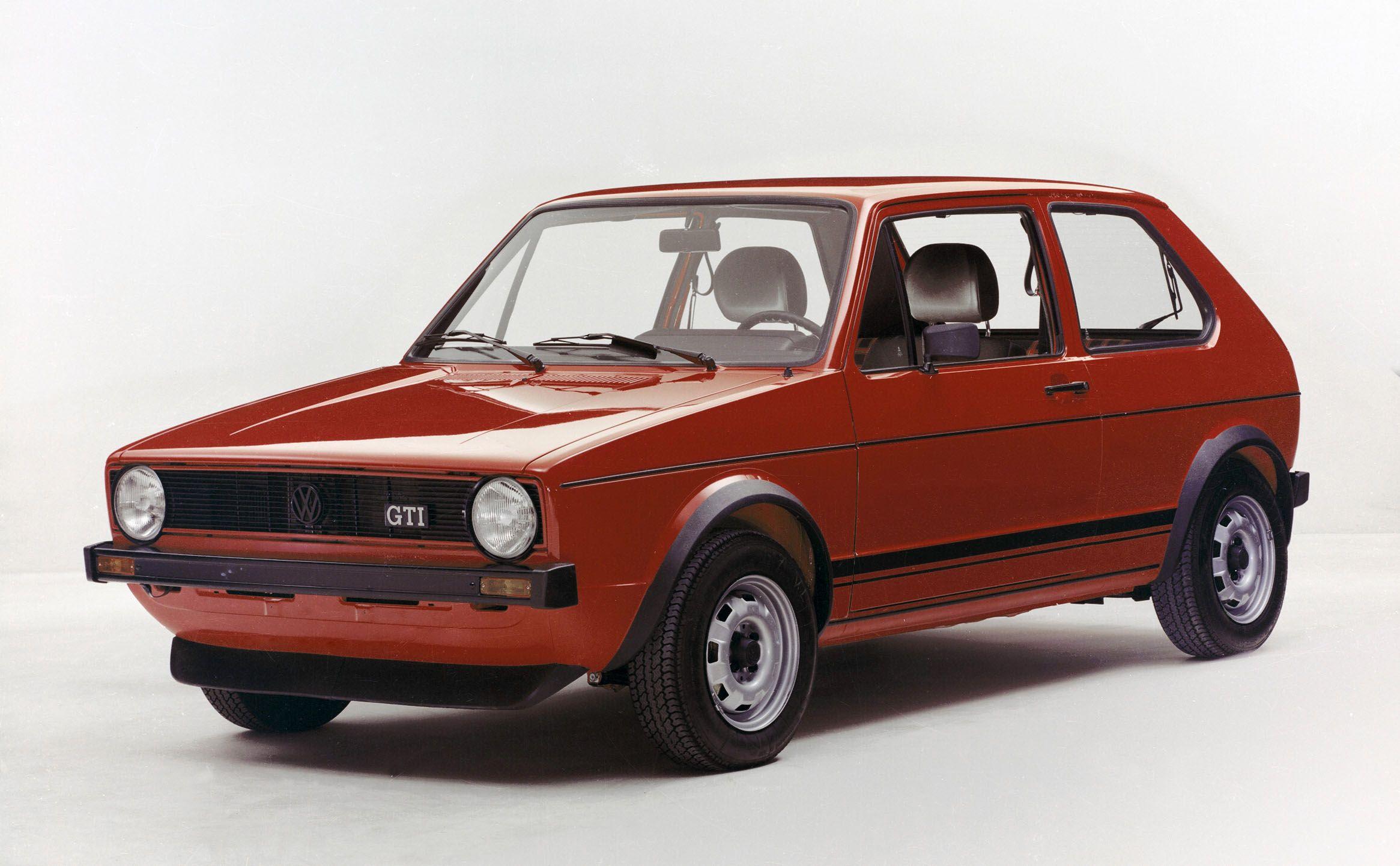 Der erste Golf GTI