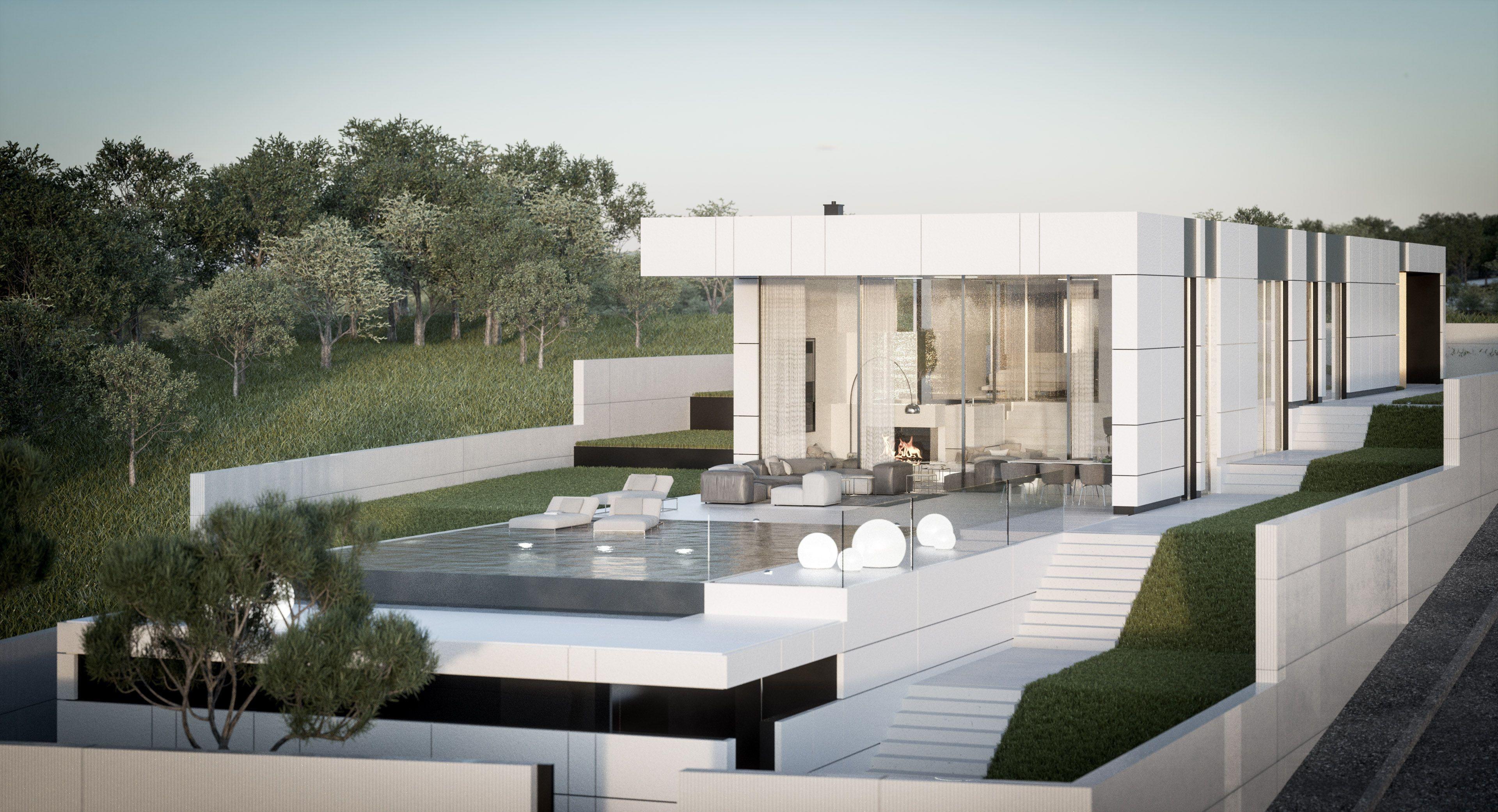 In minimalistischem und puristischem Stil hat der Wiener Martin Steininger die Villa in Zadar designed.