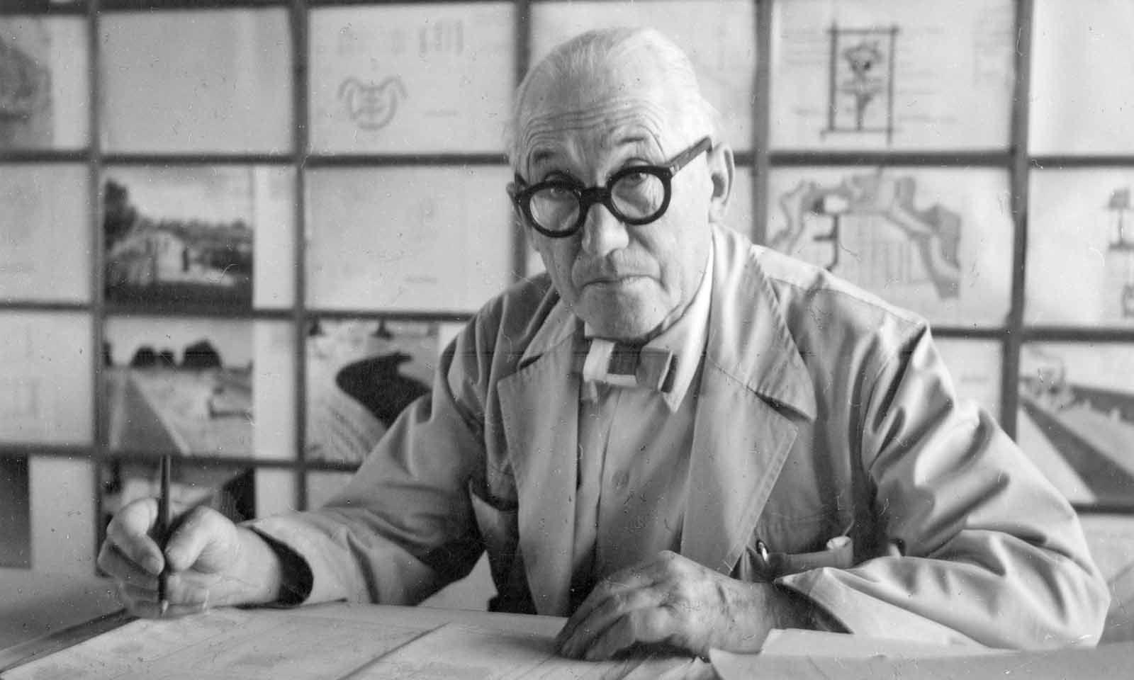 Inspiration. Le Corbusiers Farbenlehre ist Ausgangspunkt für die Kollektion.