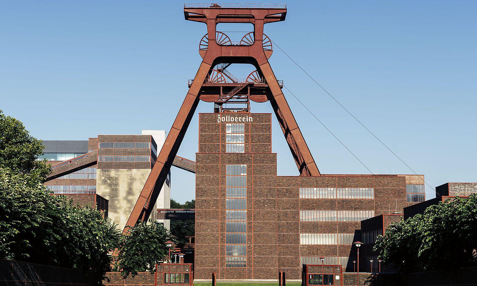 Zeche und Kokerei Zollverein in Essen.