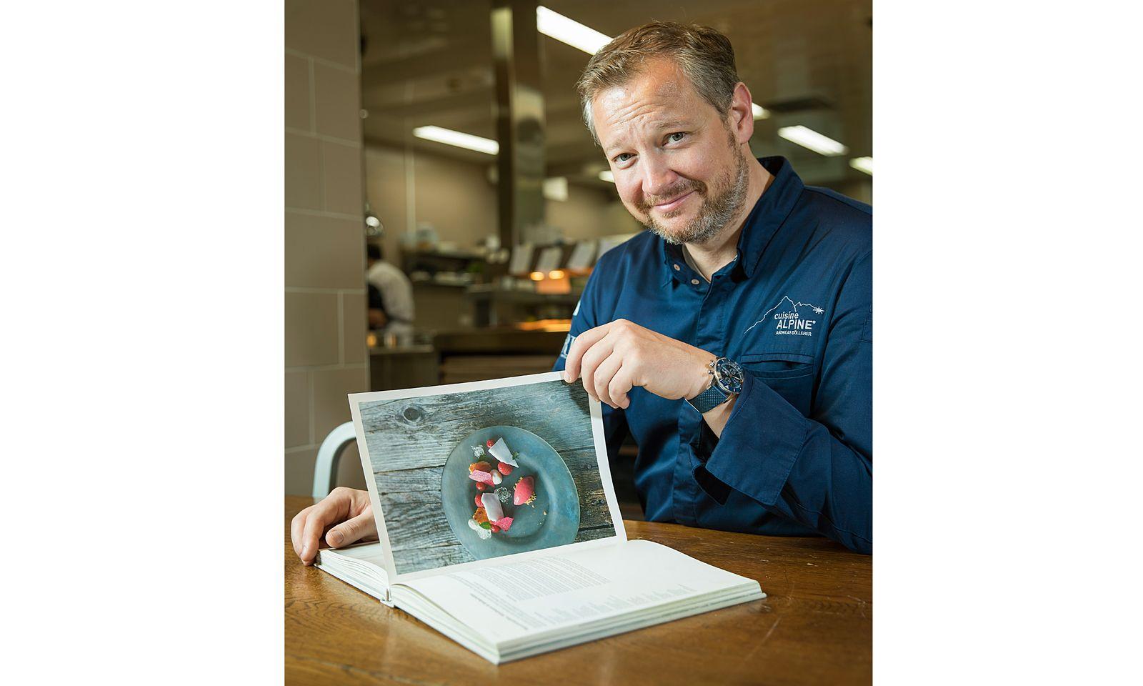 Küchengeschichte. Der Haubenkoch serviert seine Cuisine Alpine auch in Buchform.