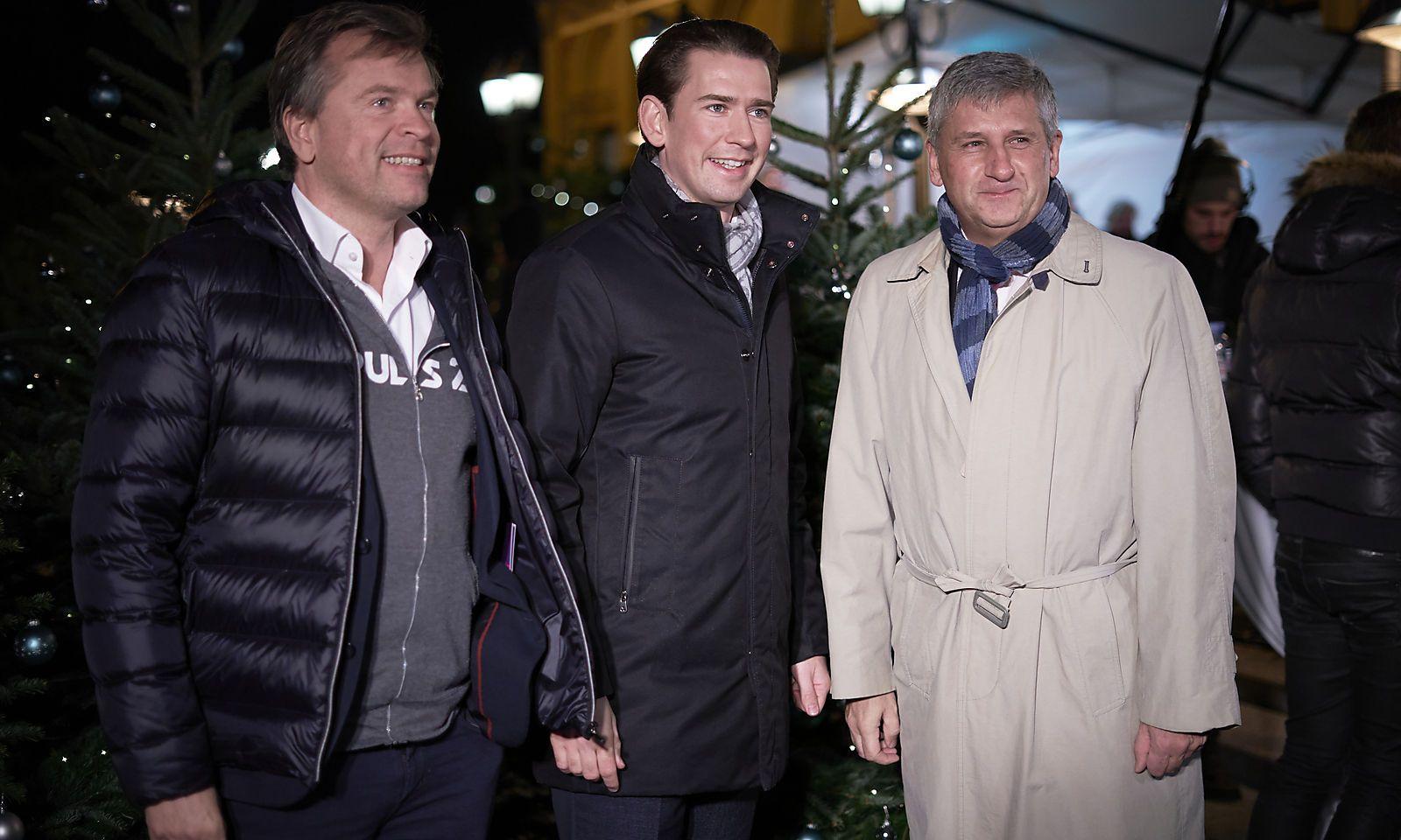 ADVENTFEIER 'PUNSCH UND MARONI': KURZ / BREITENECKER / SPINDELEGGER