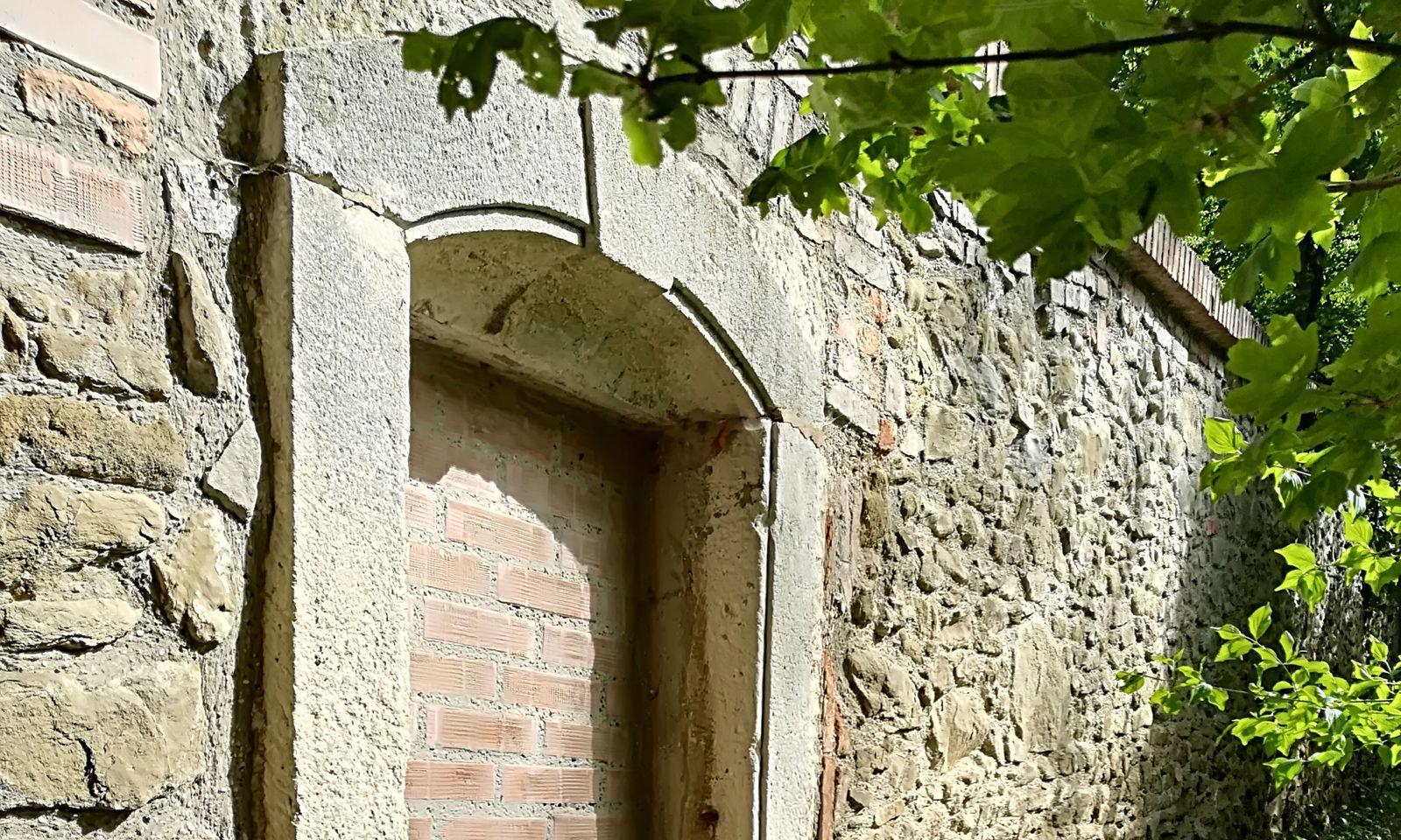 """""""Kaiser-Türl"""" in der Tiergartenmauer."""