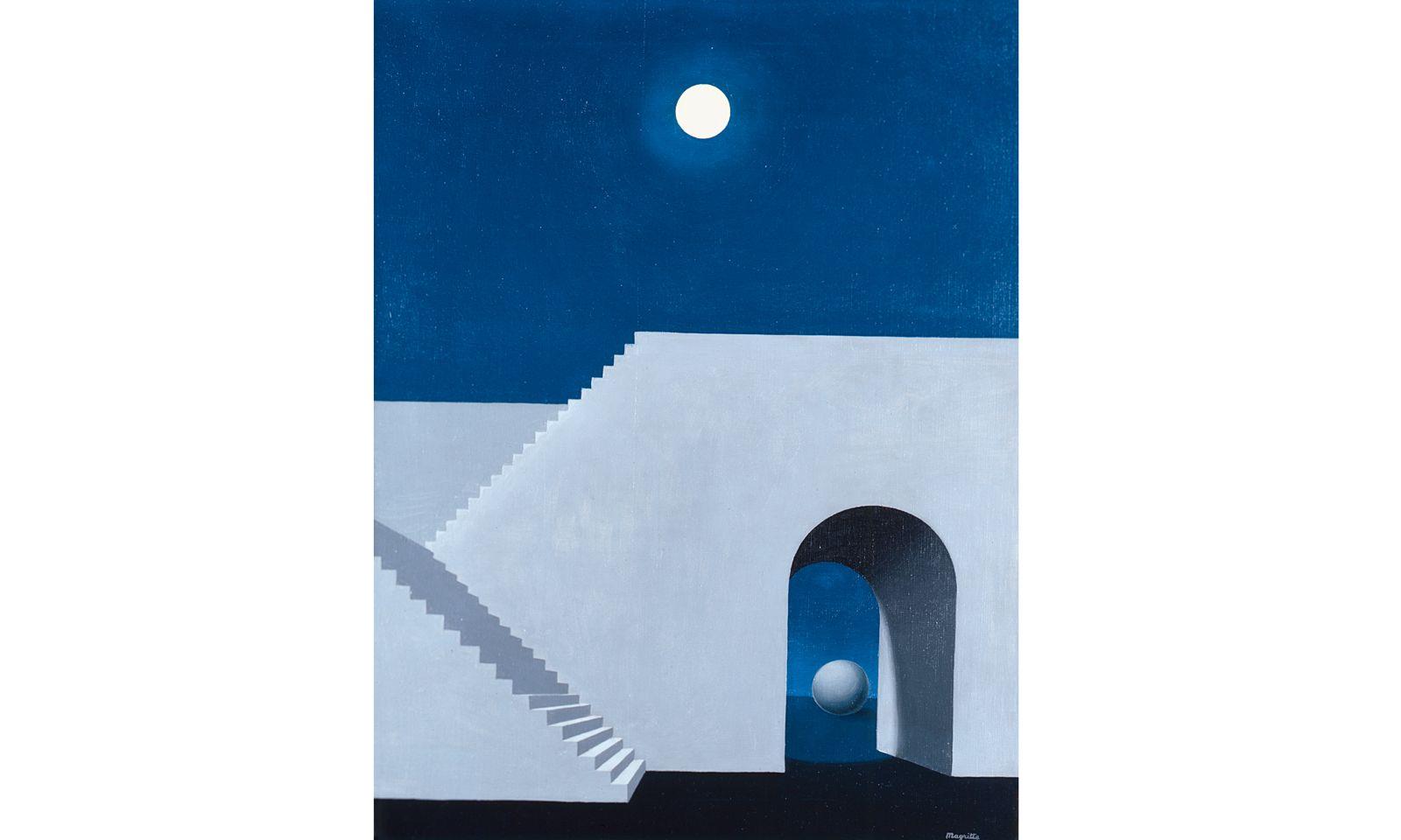 Kaltes Licht. Der rätselhafte Charakter des Mondlichts faszinierte auch René Magritte.
