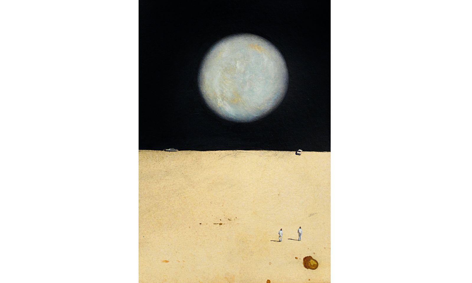 Neuland. Thomas Thyrion sondiert mit den Mitteln der Malerei unbekannte Terrains.