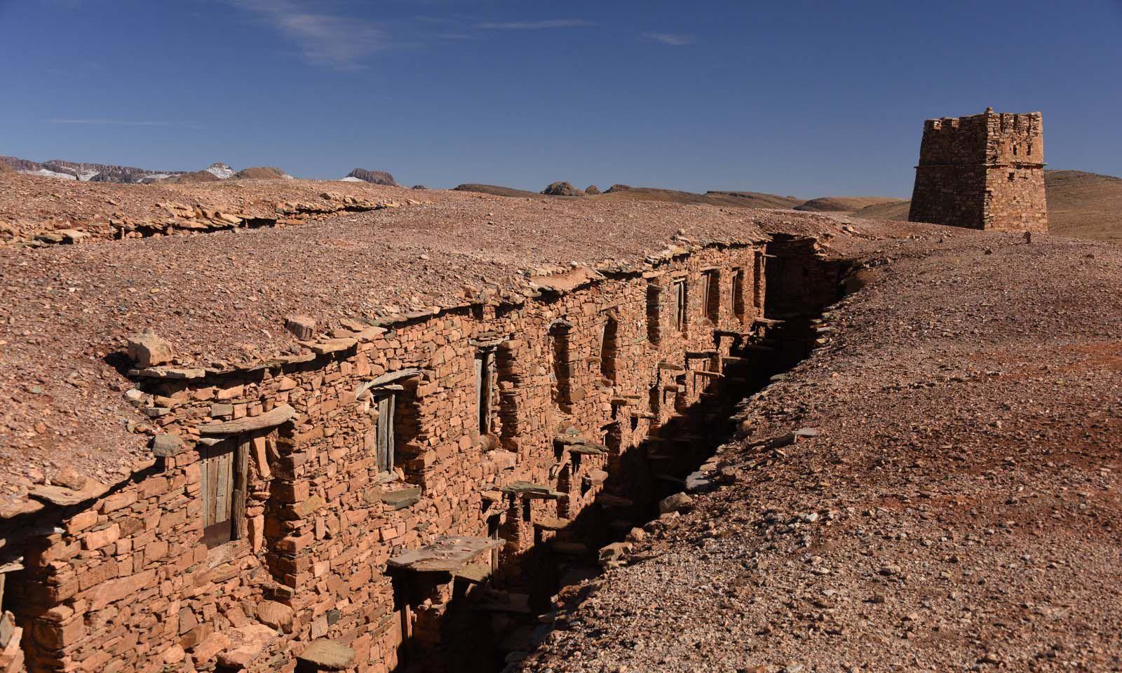 Berberspeicher Agadir Tashelhit in Form einer Festung