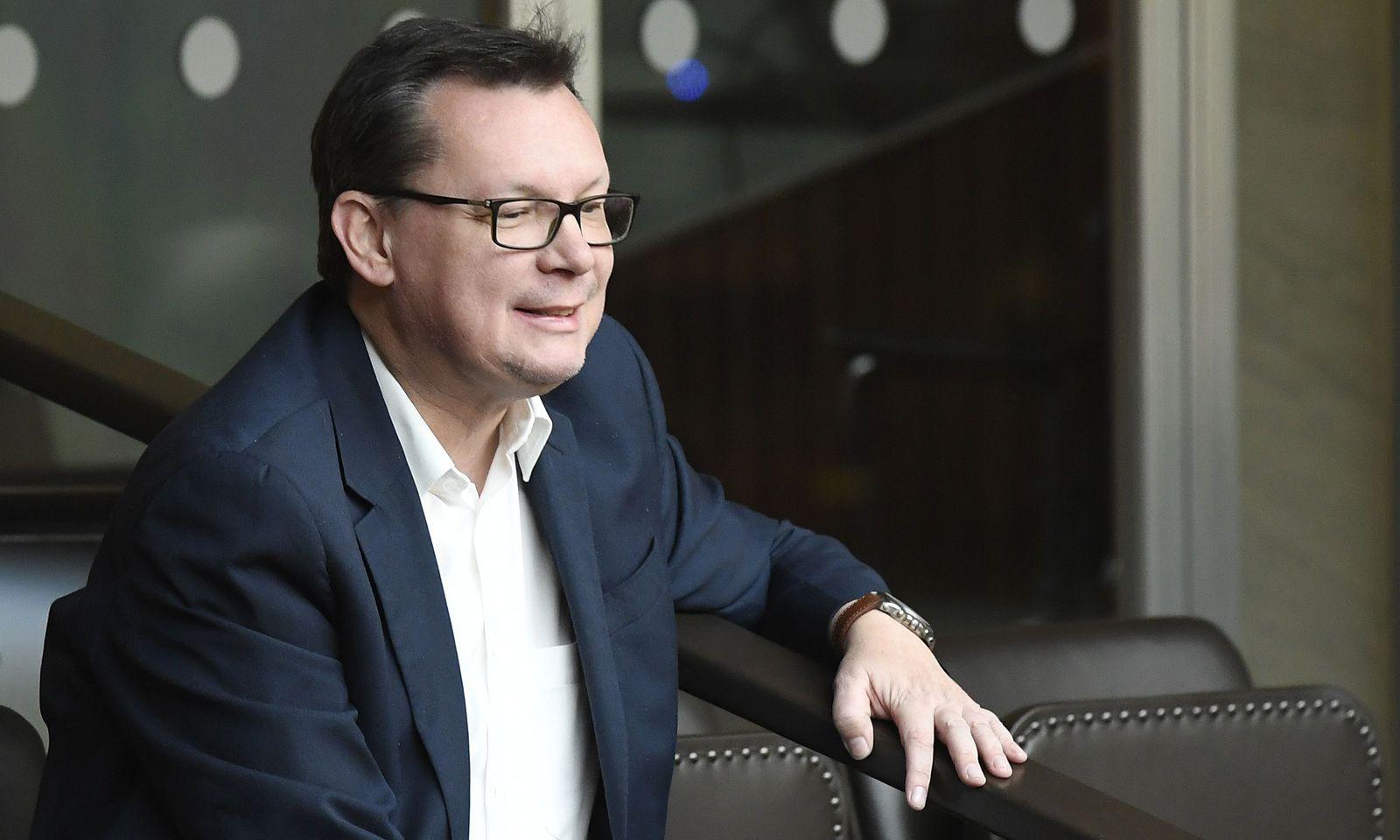 Ex-Verteidigungsminister Norbert Darabos verfolgte die Eurofighter-Debatte am Dienstag von den Zuschauerrängen aus.