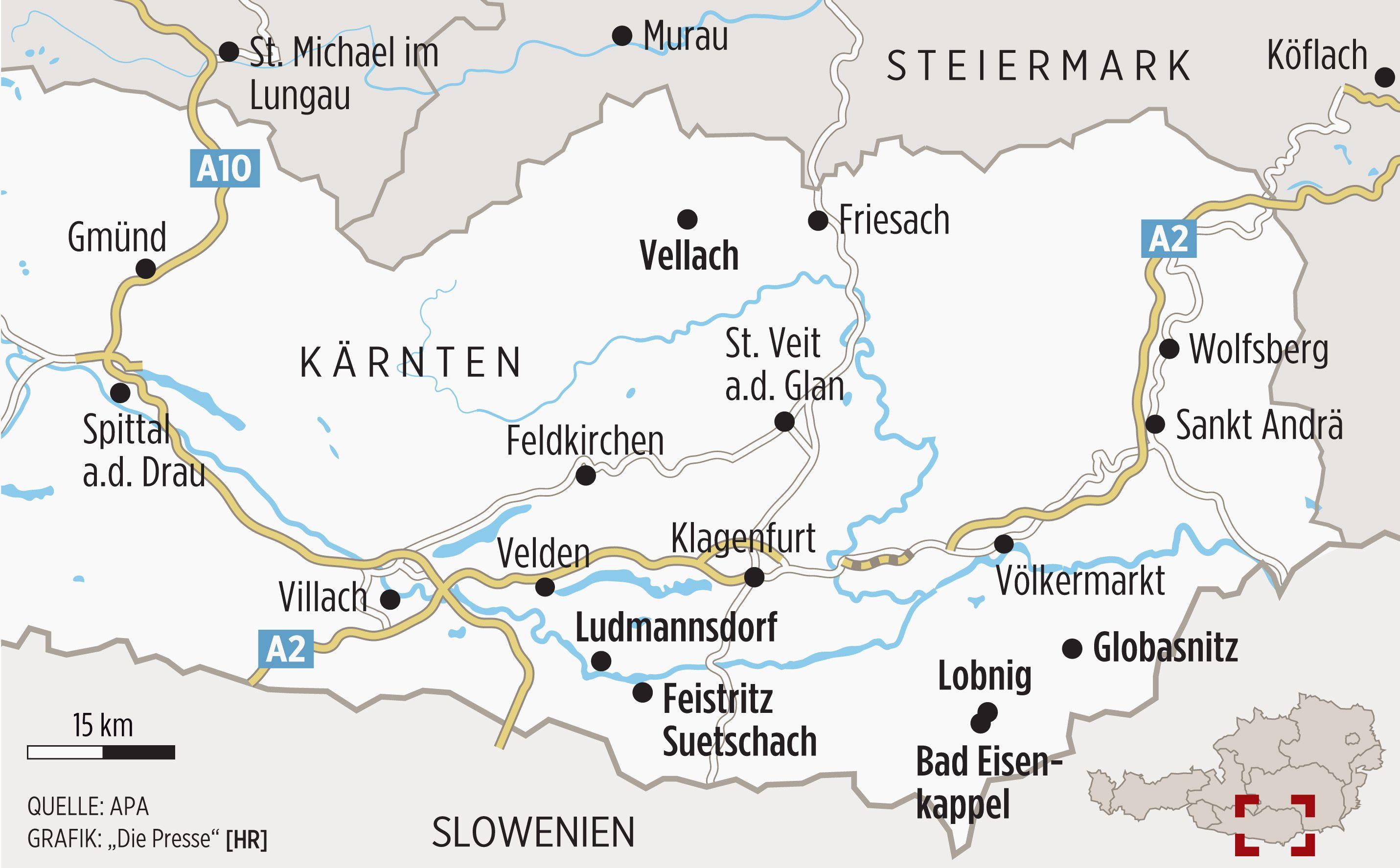 Karntner Slowenen Vom Langsamen Verschwinden Einer Volksgruppe