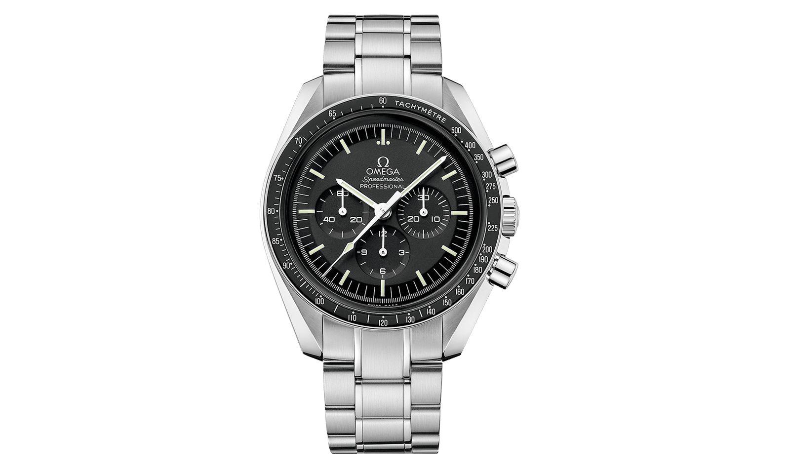 """Aktuelle Moonwatch. Diese """"Speedmaster Professional"""" ist der Nachfolger des Originalmodells von 1969."""
