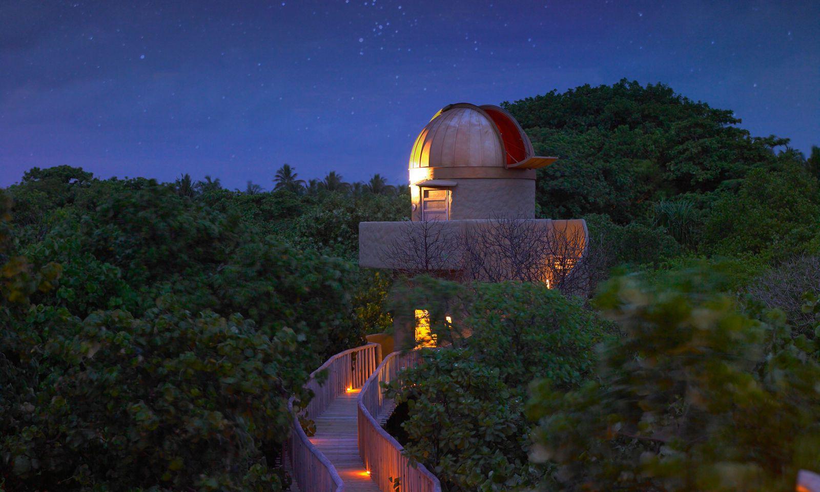 Milchstraße. Kaum Lichtverschmutzung – so lässt sich in die Sterne schauen.