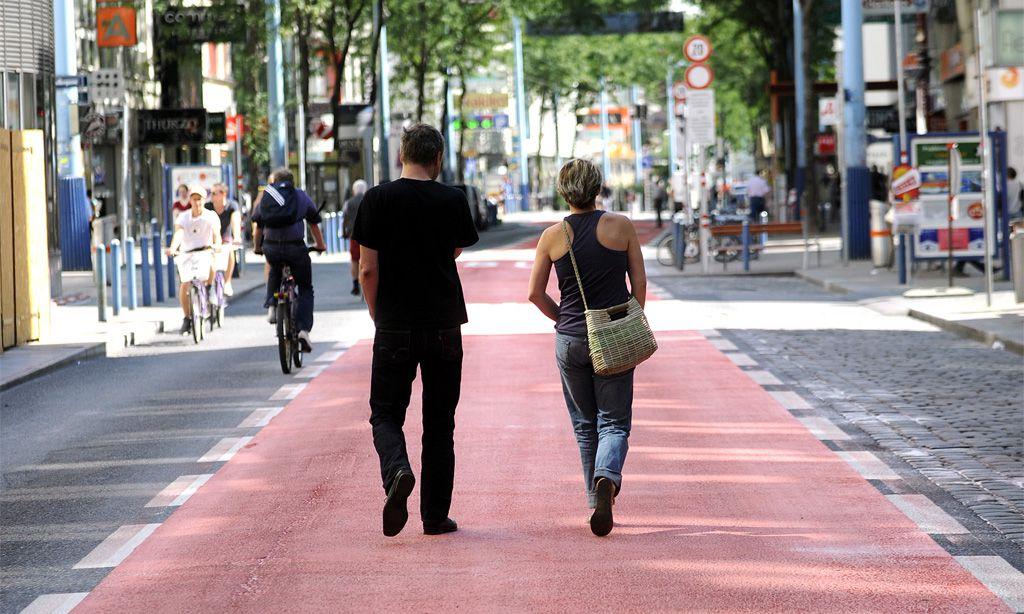 Mariahilfer Straße: Weil Fußgänger nicht fließen |