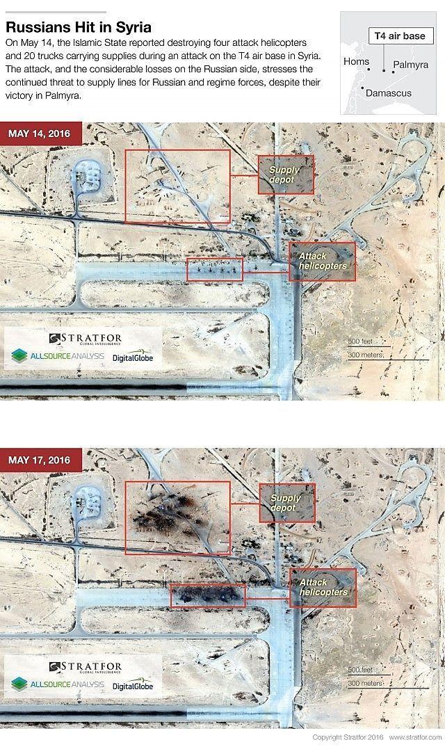Bilder der Tiyas-Airbase vom 14. und 17. Mai