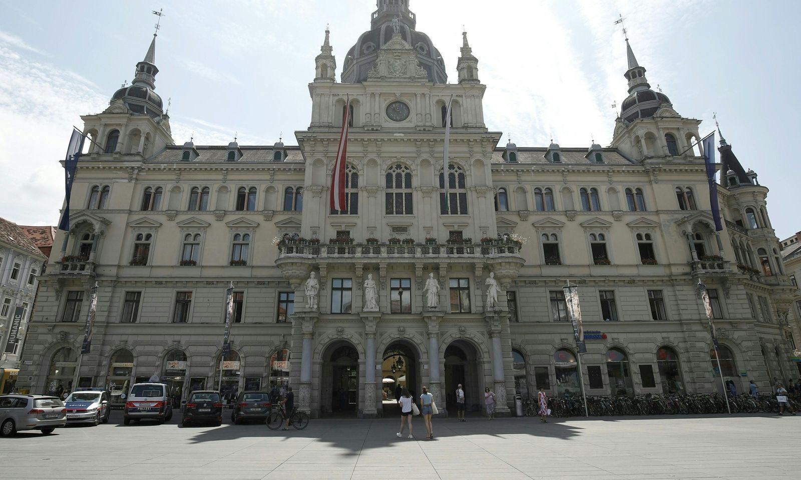Im Rathaus hat der Pressersprecher des Bürgermeisters Siegfried Nagl den Brand miterlebt