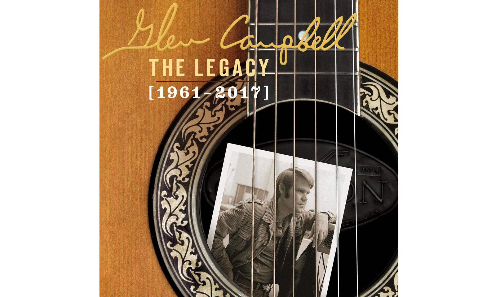 """Glen Campbell: """"The Legacy (1961–2017)"""", 4 CDs"""