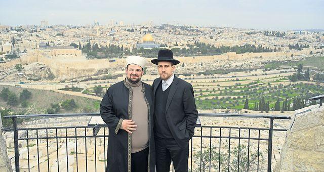 Schlomo Hofmeister, Gemeinderabbiner in Wien, und Ramazan Demir, Imam der Islamischen Glaubensgemeinschaft Österreichs, haben sich auf gemeinsame Tour in die Türkei, nach Israel und in die Palästinensergebiete begeben.