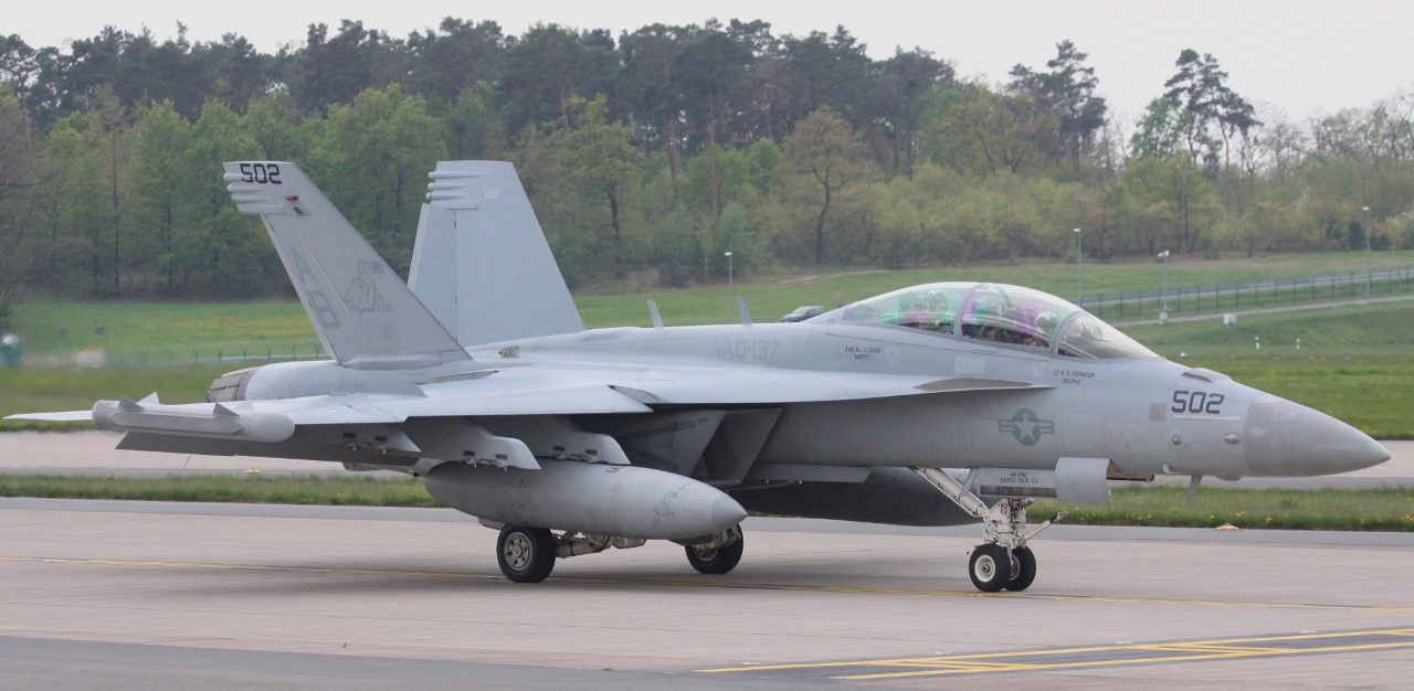 F-18 Growler in Berlin