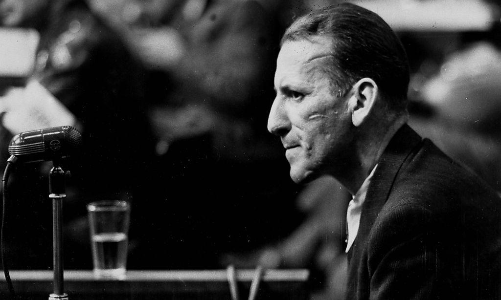 Ernst Kaltenbrunner, der berüchtigte Chef des Reichssicherheitshauptamtes