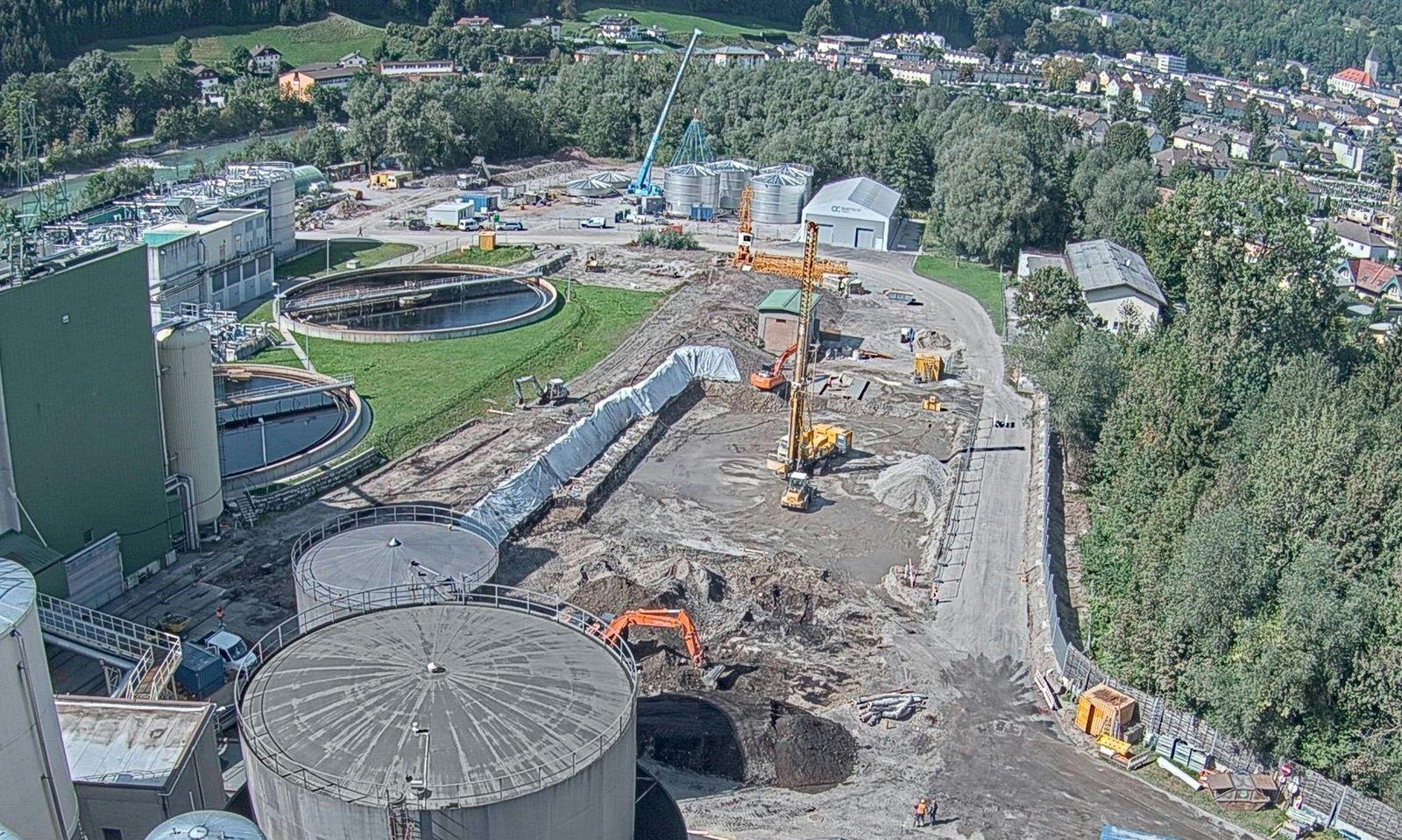 In Hallein werden 42 Millionen Euro in eine Bio-Ethanolanlage investiert