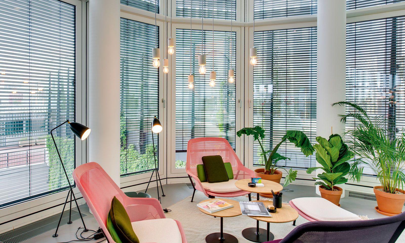 Lichtdesign als Stimmungselement: Jedem Raum die passende Athmosphäre (hier im Spaces Vienna Orbitower).