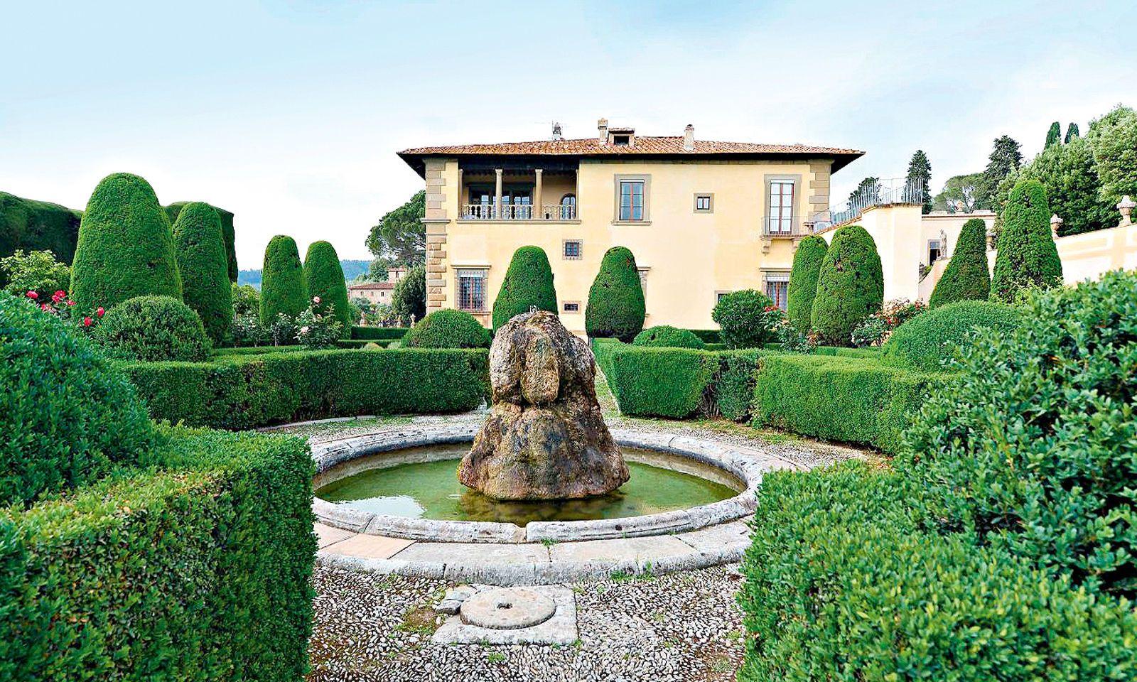 Die Villa Gamberaia in der Nähe von Florenz ist ein Musterbeispiel vollendeter Gartenarchitektur.
