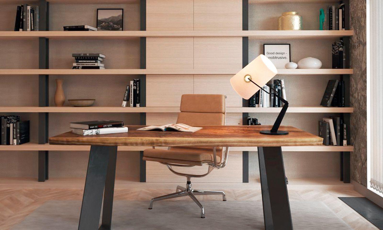 Maßanfertigung eines Schreibtischs.