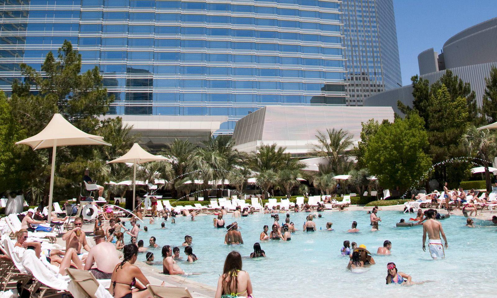 Pool des Aria Resort.
