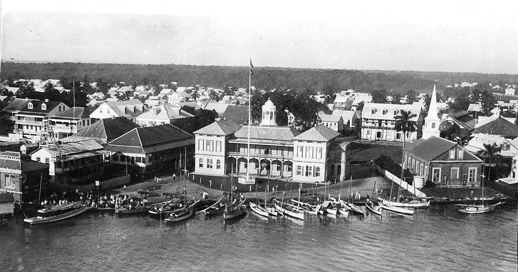 Gerichtsgebäude von Belize City, 1911