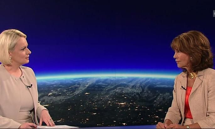 Nach zehn Tagen im Amt gab Brigitte Bierlein ihr erses Interview.