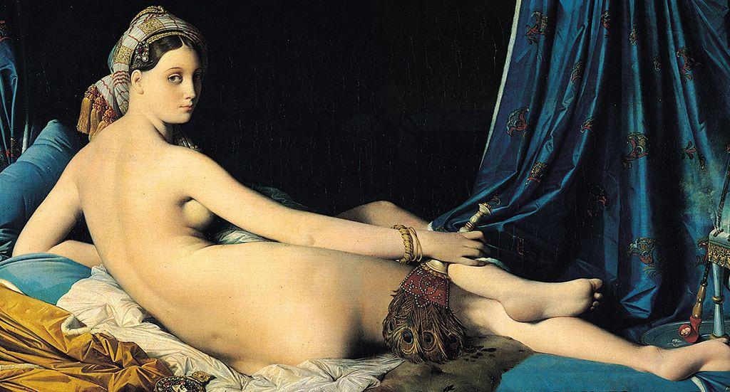 Jean Auguste Dominique Ingres La Grande Odalisque 1814