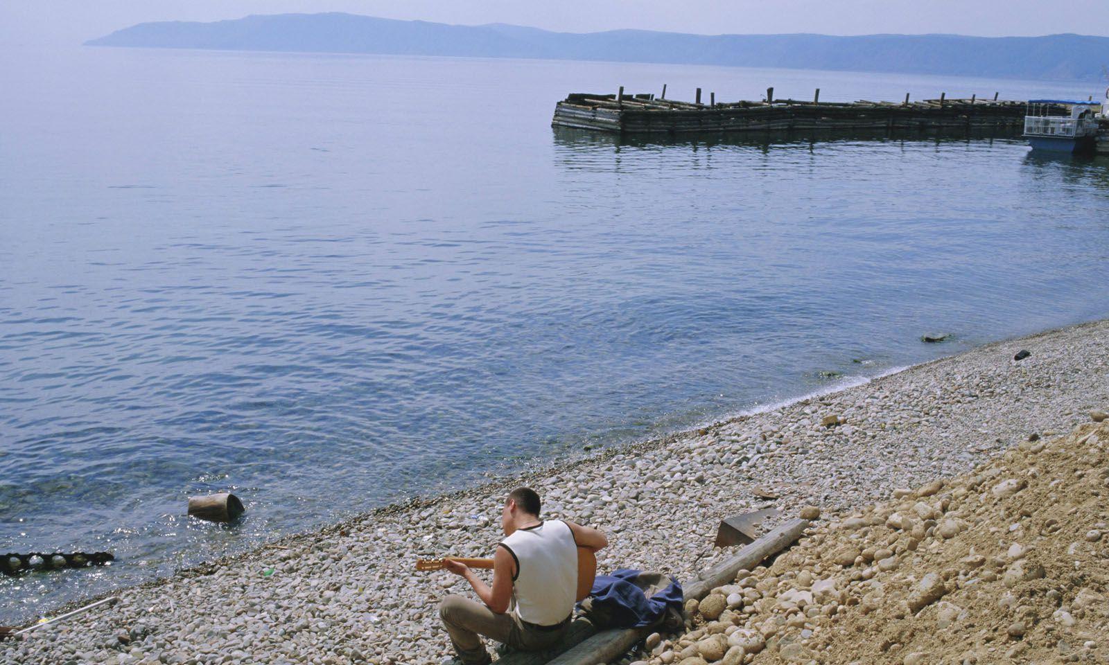 Am Seeufer