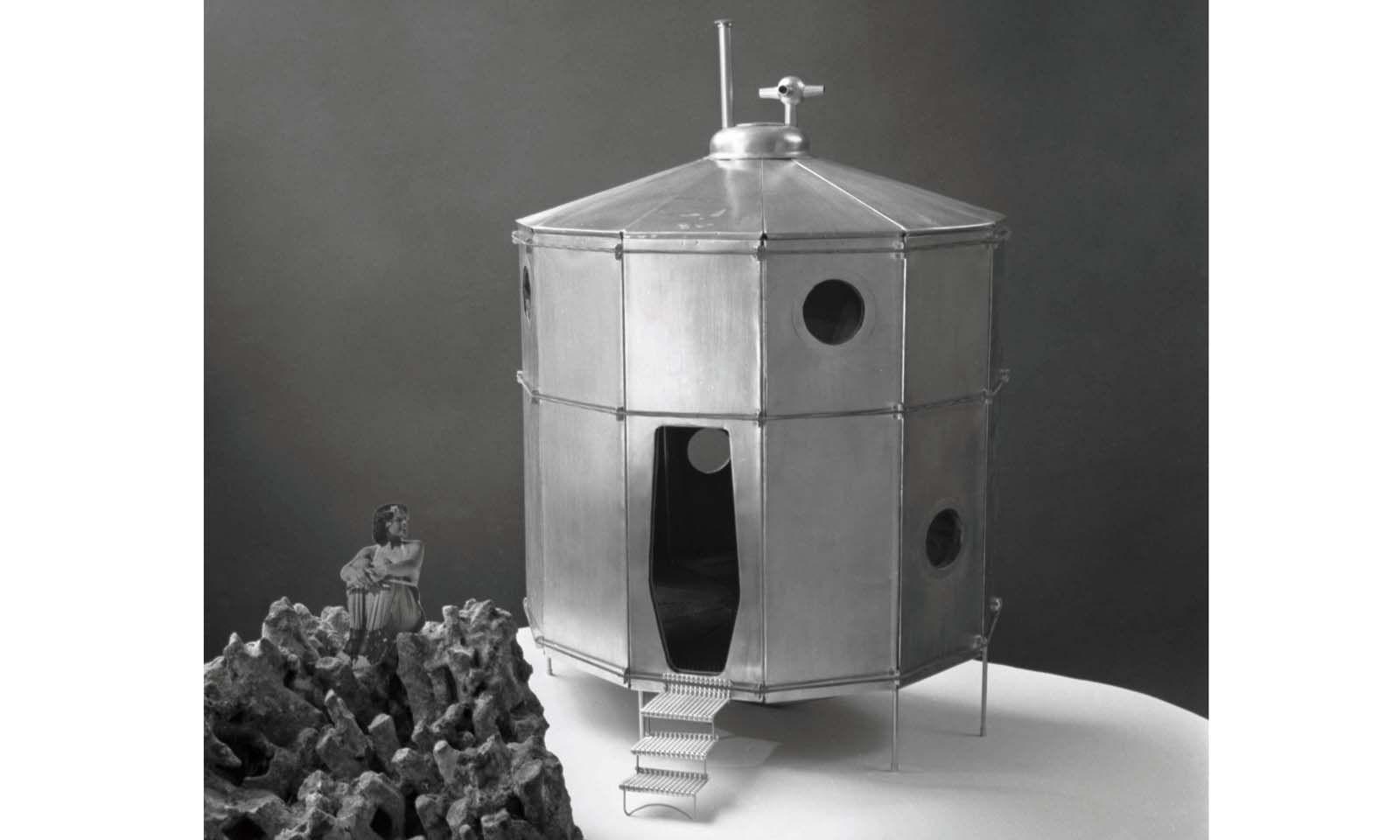 """Schutztonne. Die """"Refuge Tonneau"""", ein Entwurf aus dem Jahr 1938."""