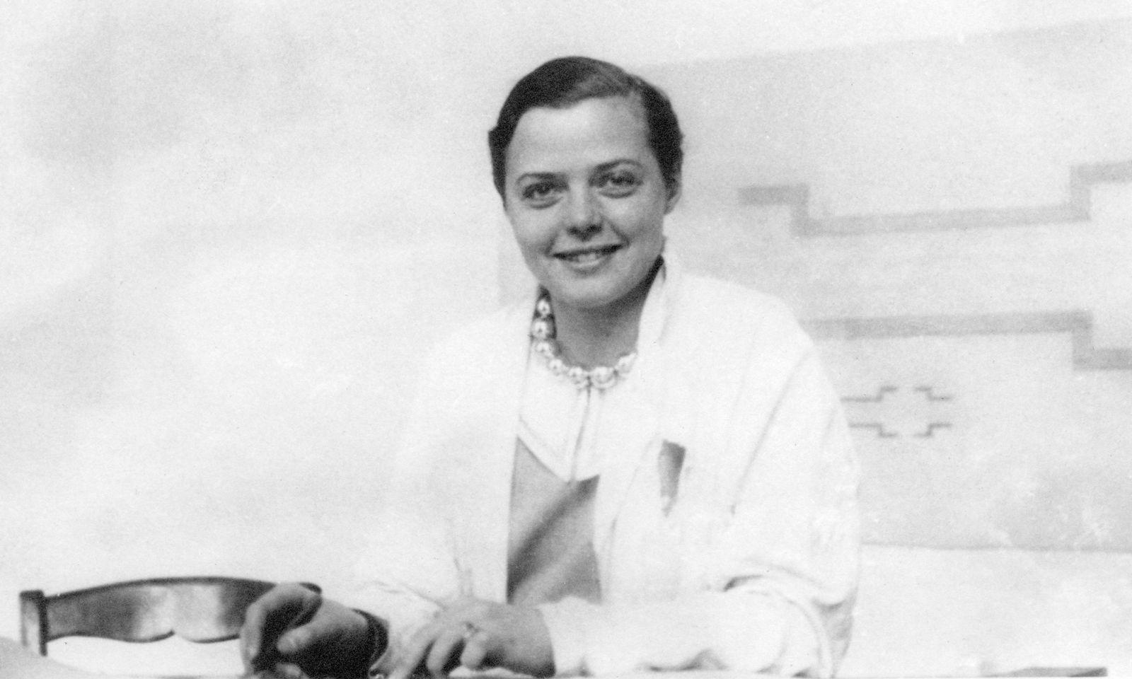 Visionärin. Die Designerin und Architektin Charlotte Perriand im Jahre 1929.