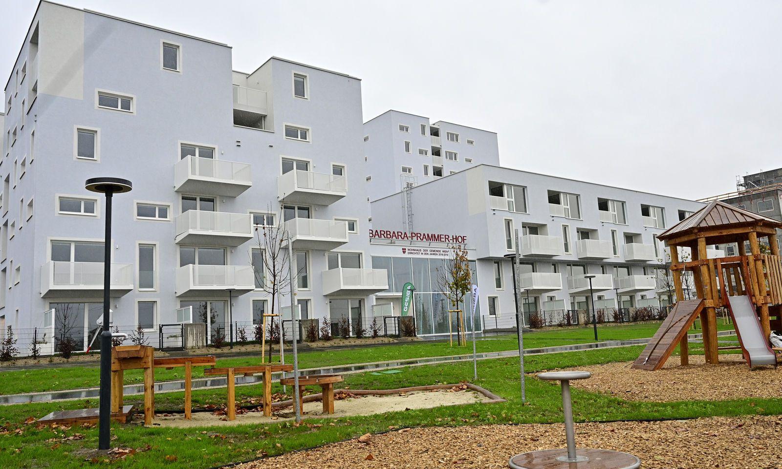 Die Anlage ist nach der verstorbenen Nationalratspräsidentin Barbara Prammer (SPÖ) benannt