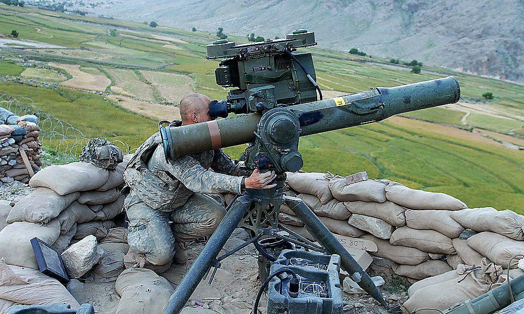 TOW der US-Armee in Afghanistan