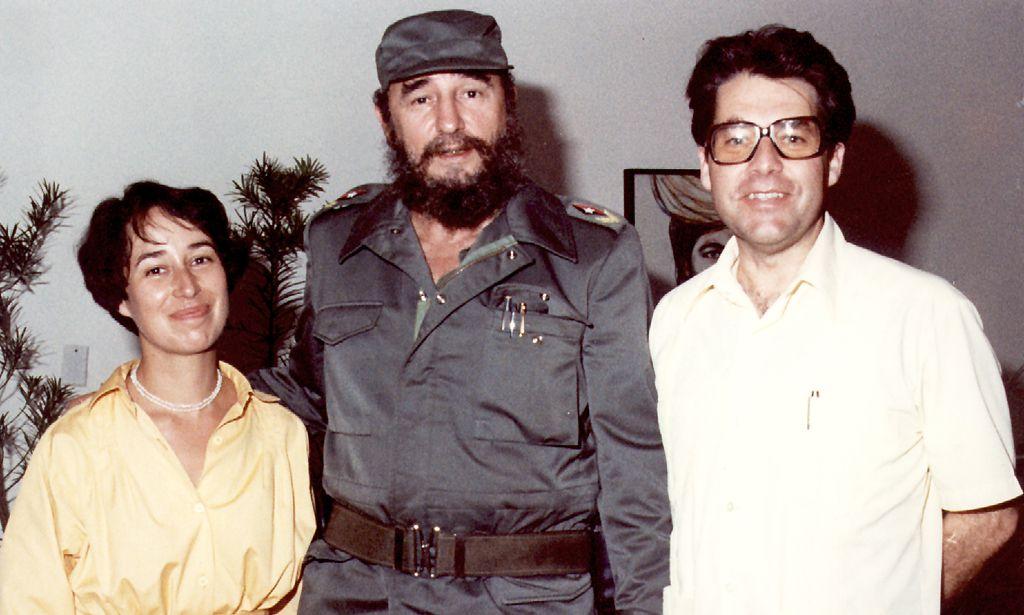 ARCHIVBILD: TREFFEN HEINZ UND MARGIT FISCHER MIT FIDEL CASTRO IN HAVANNA 1980
