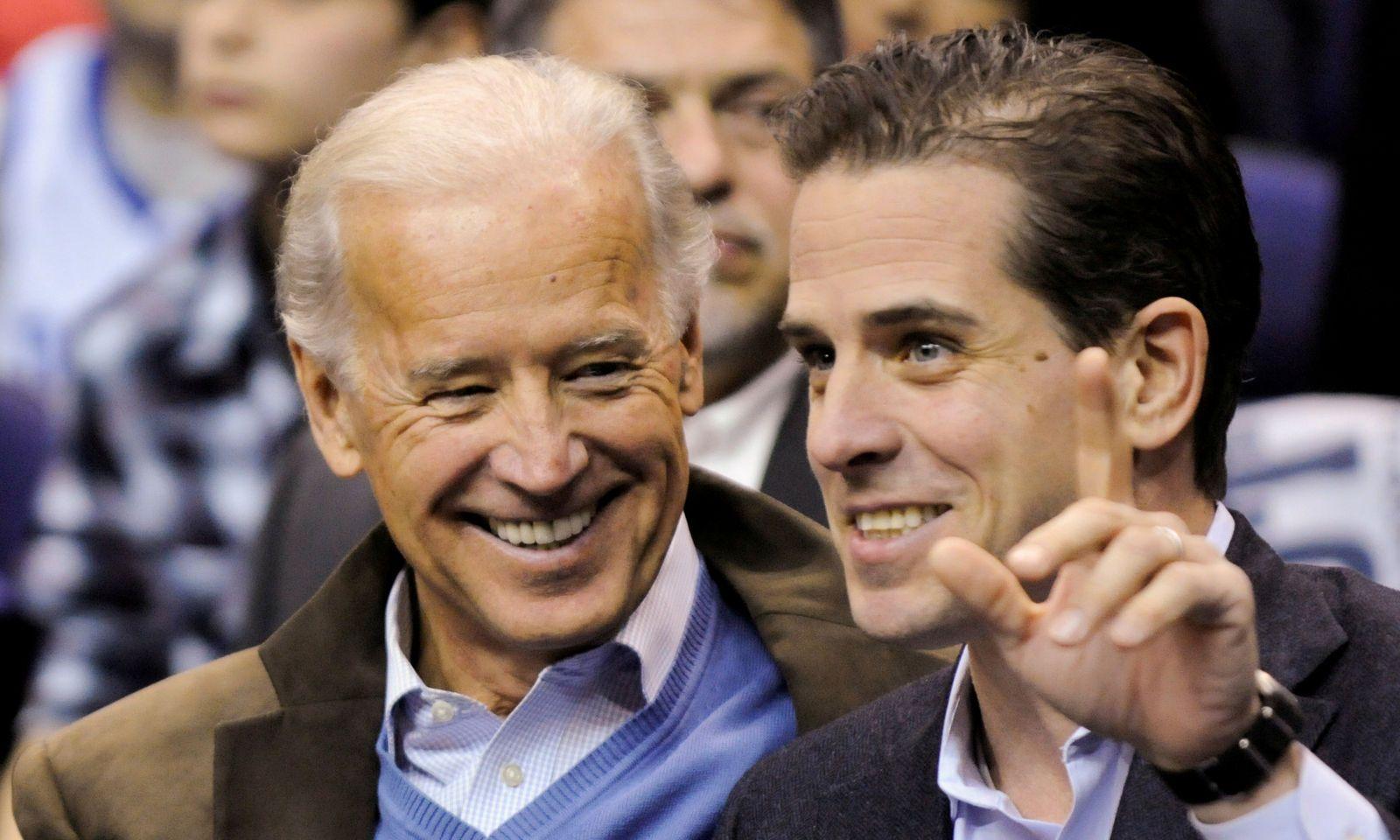 Joe Biden und sein Sohn Hunter Biden