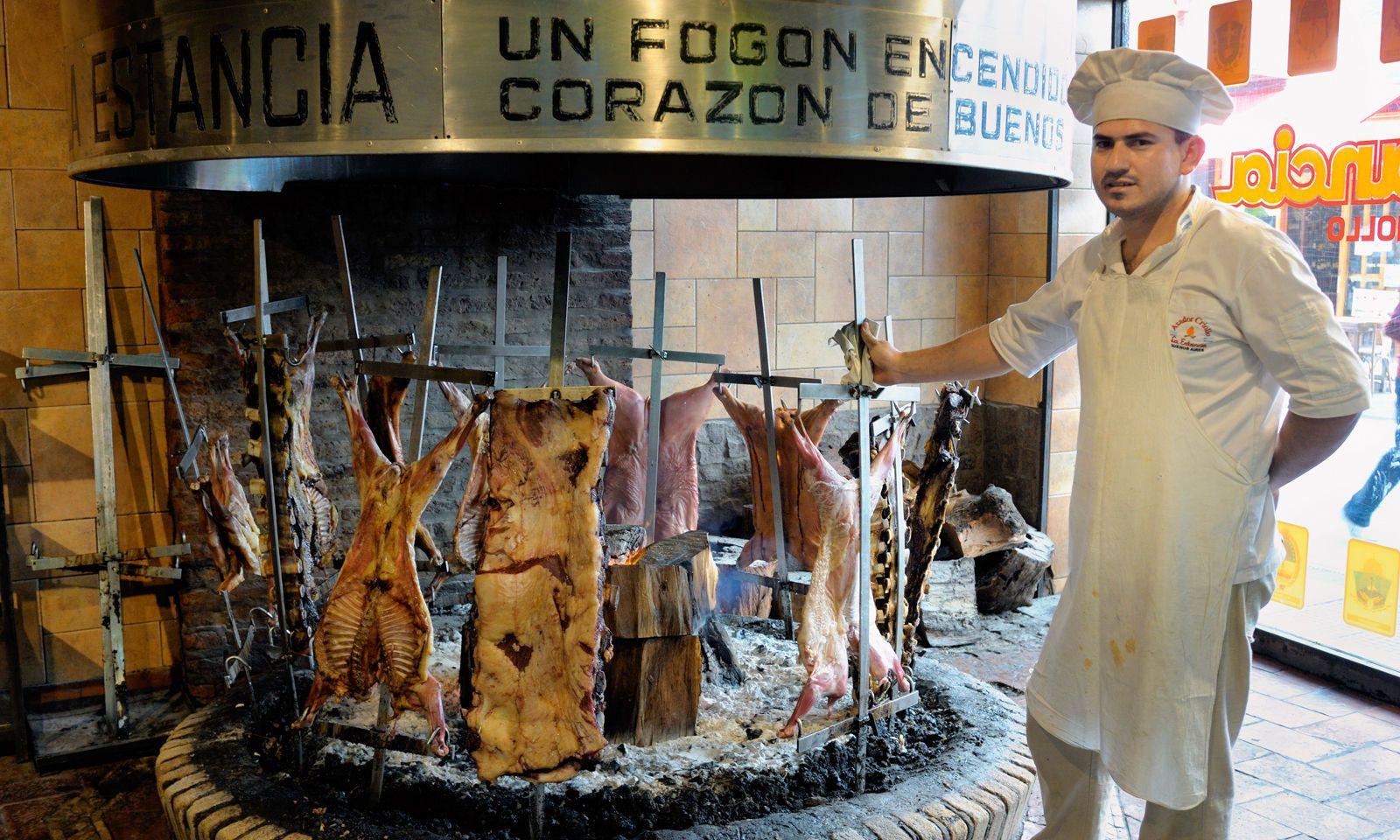 Gegrilltes alias Asado ist das Rückgrat der argentinischen Küche.