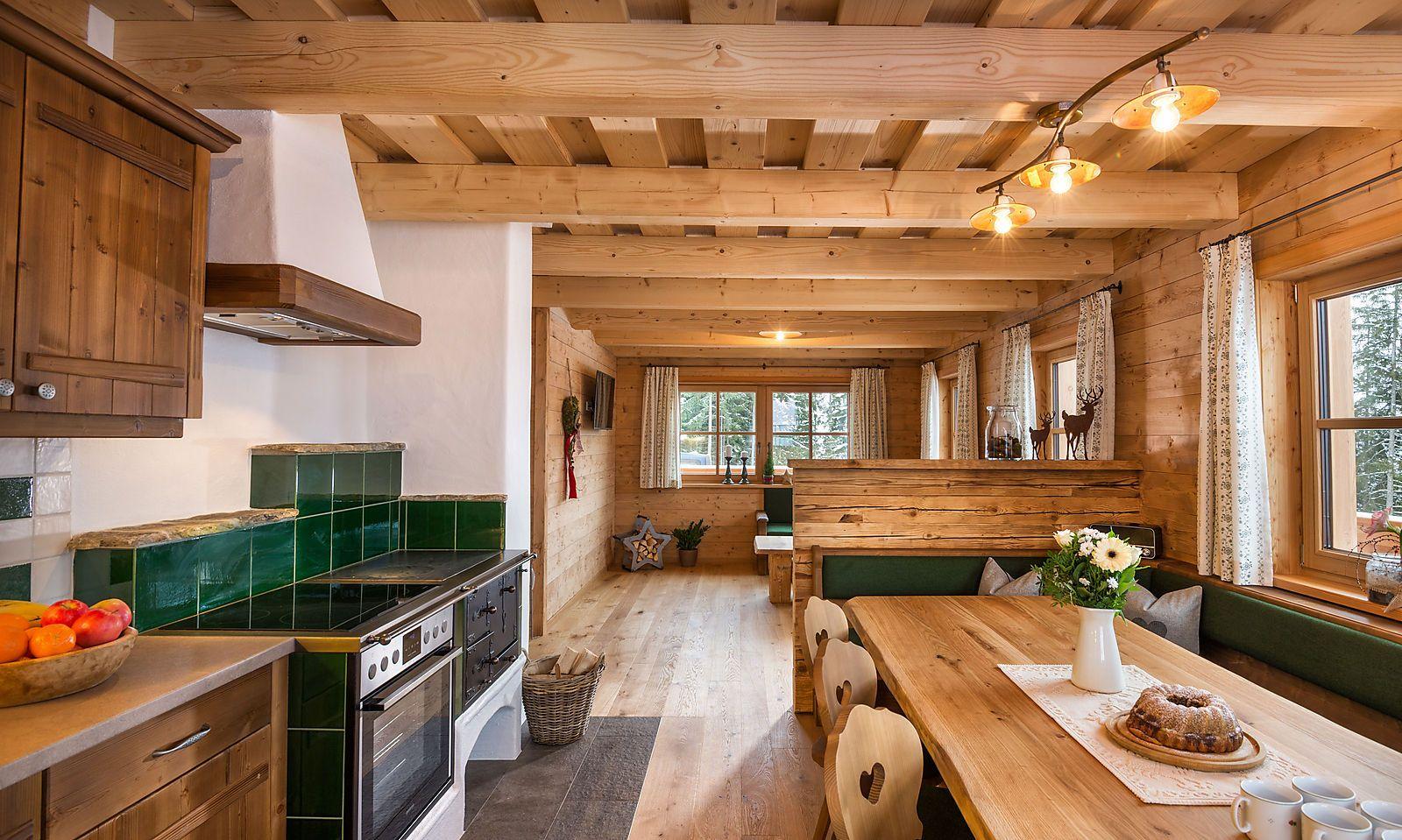 Hüttenatmosphäre de luxe im Skigebiet Hauser Kaibling.
