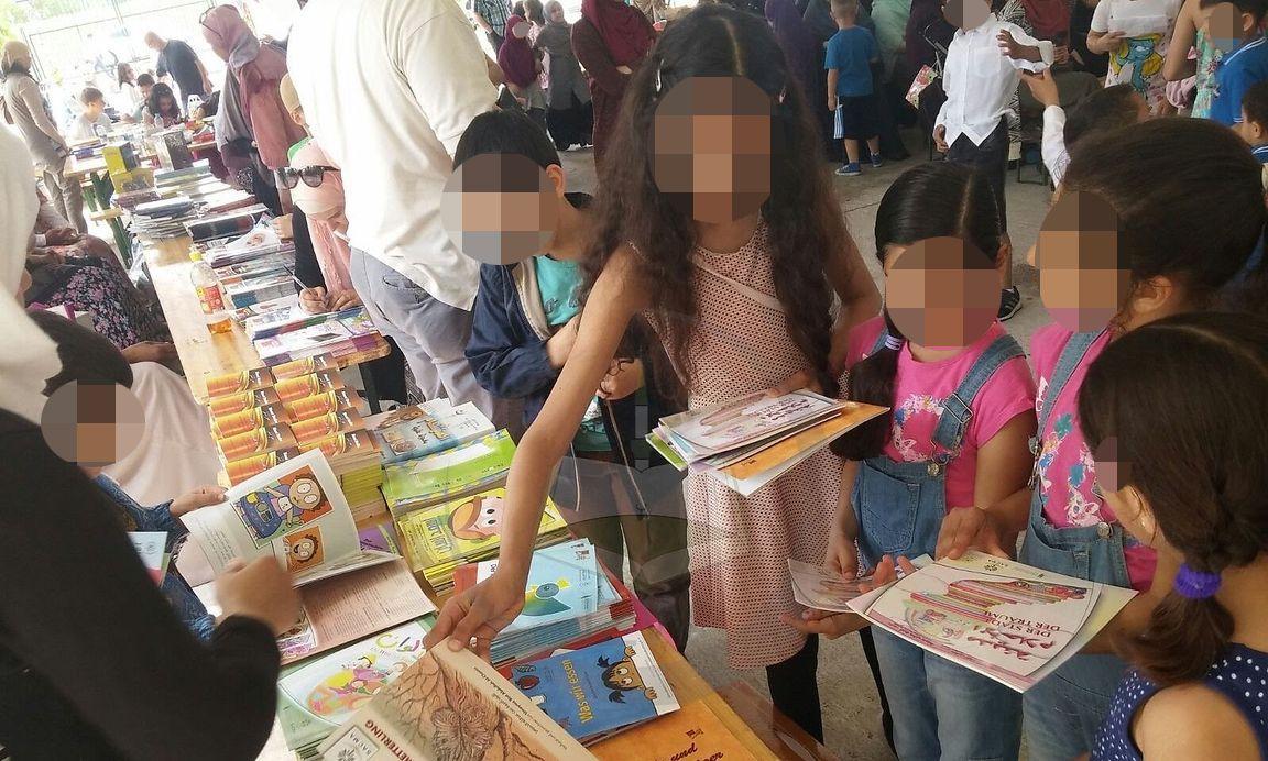 Ein weiteres Bild vom Kinder- und Familienfest im Islamischen Zentrum im Juni 2016