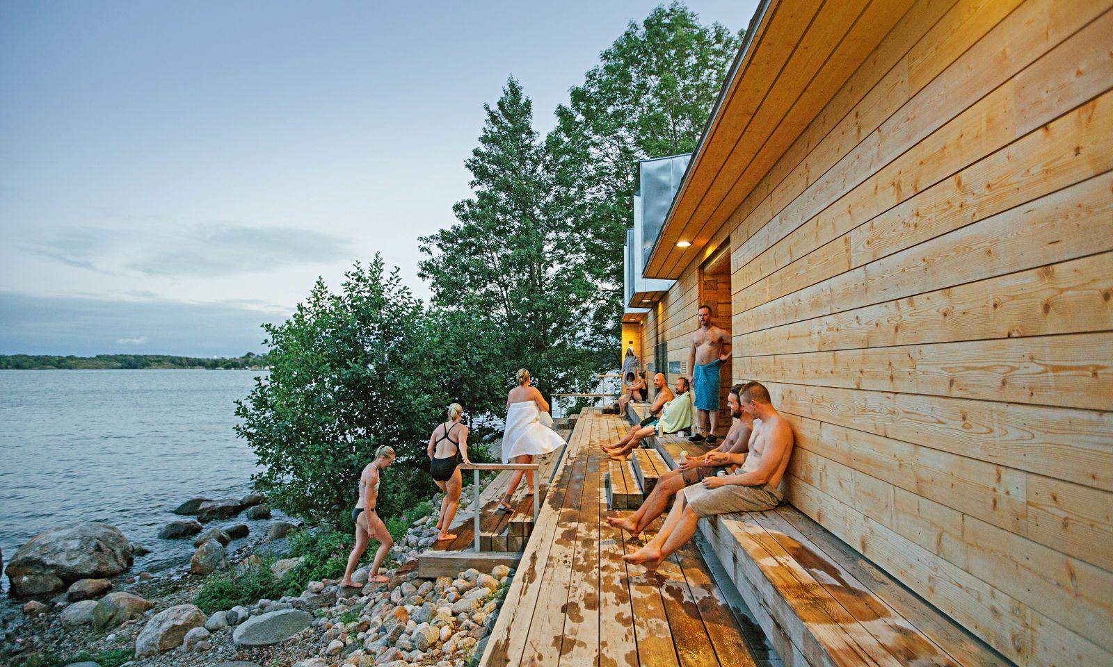 Essenziell. Sauna auf Lonna: Finnland hat fast so viele Saunas wie Finnen.